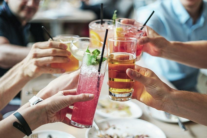Contextos de consumo de álcool